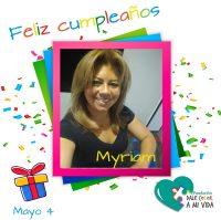 Cumpleaños Myriam